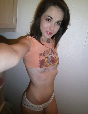 Pussy from behind self shot