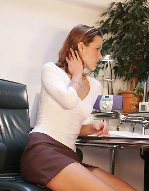 Office Pussy Pics